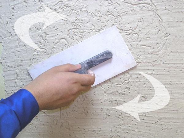 Как сделать декоративную штукатурку своими руками короед