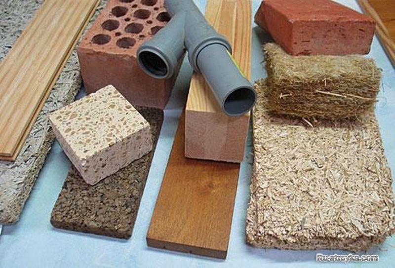 Материал для строительства дома