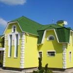 Современные краски для отделки фасадов