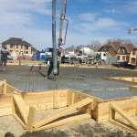 Монолитный фундамент для деревянного дома