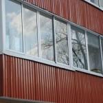 profnastil dla balkona