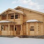 Подготовка и строительство загородных домов из бруса