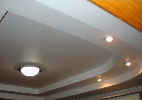 Потолки из гипсокартона фото
