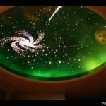 Дизайн натяжного потолка звездное небо и потолков с фото
