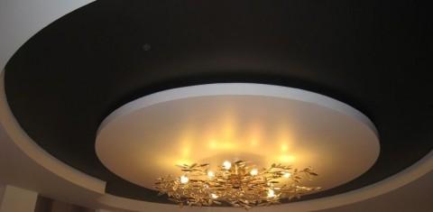 натяжной потолок матовая фактура фото