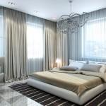 3-D визуализация дизайн – проекта спальни