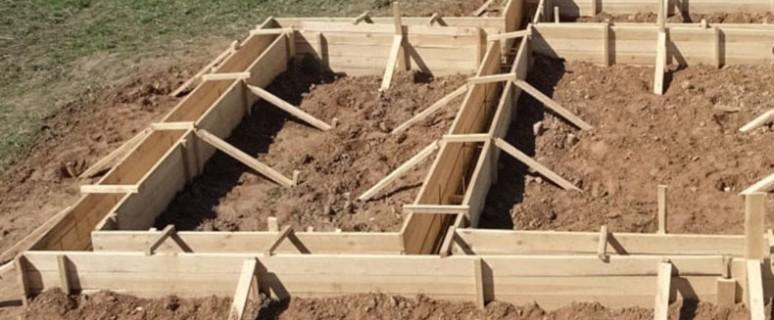 Фундамент своими руками для каркасного дома фото