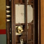Замена замка в металлической двери со специальным карманом для механизма