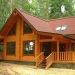 Как построить деревянный дом на дачном участке?