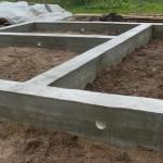Как сделать армирование мелкозаглубленного ленточного фундамента деревянного дома с видео