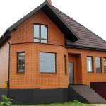Возведение кирпичного дома