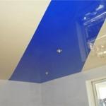 Какие бывают натяжные потолки двухцветные