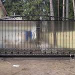 Откатные ворота для дачи: виды, преимущества