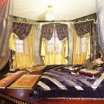 Арабский дизайн спальни