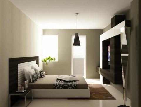 Дизайн спальни в стиле «хай – тек»