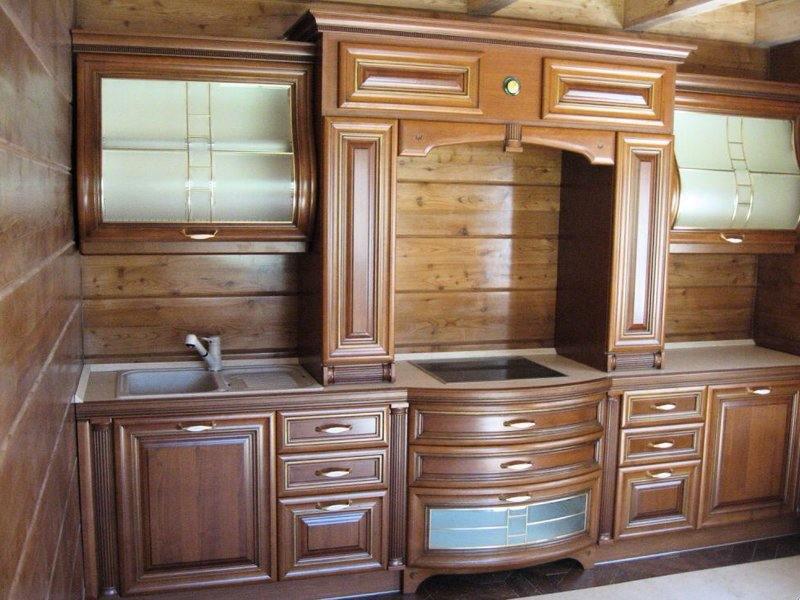 Мебель из массива кухонная