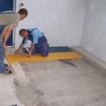 Модульные напольные покрытия из плит ПВХ