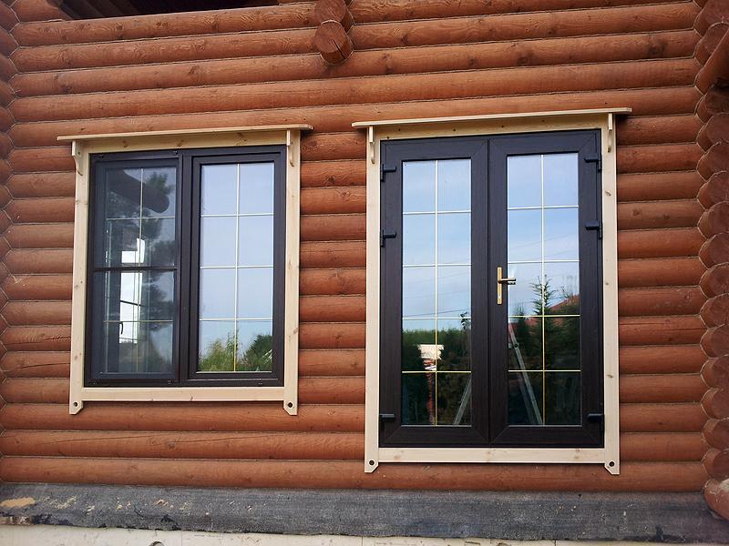 Пластиковые окна установка окон в деревянном доме