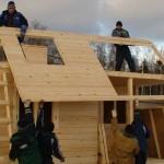 Каркасно-щитовой дом – экономия на строительстве