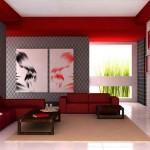 Декоративная отделка стен обоями
