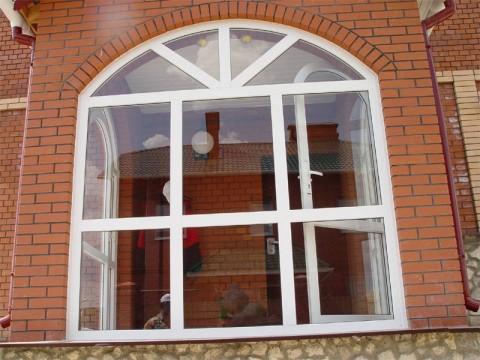 Панорамные ПВХ окна