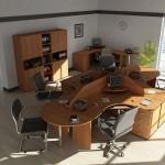 Основные виды офисных столов
