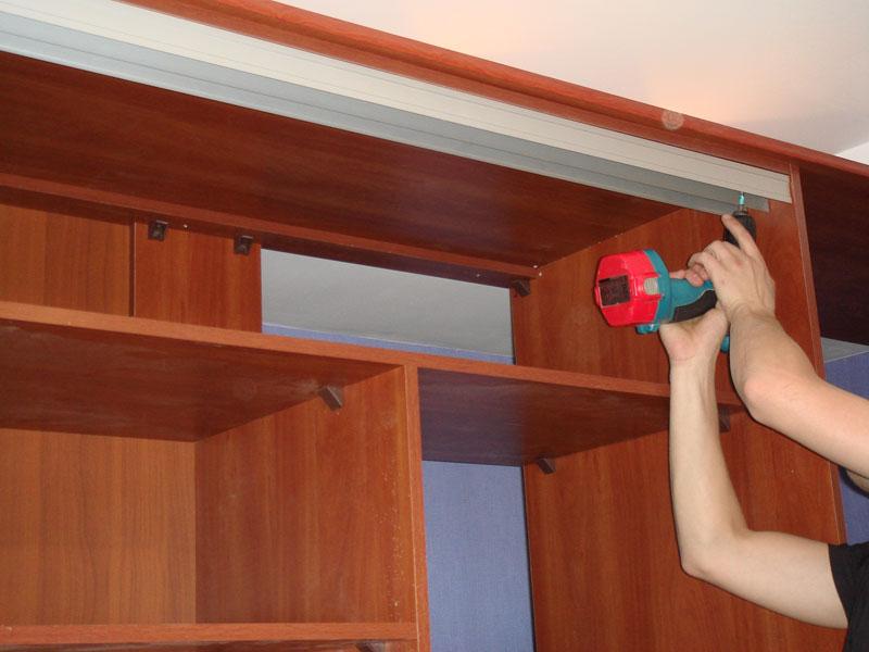 Как сделать шкаф купе своими руками в спальне