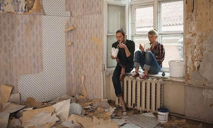Фото косметический ремонт на кухне своими руками