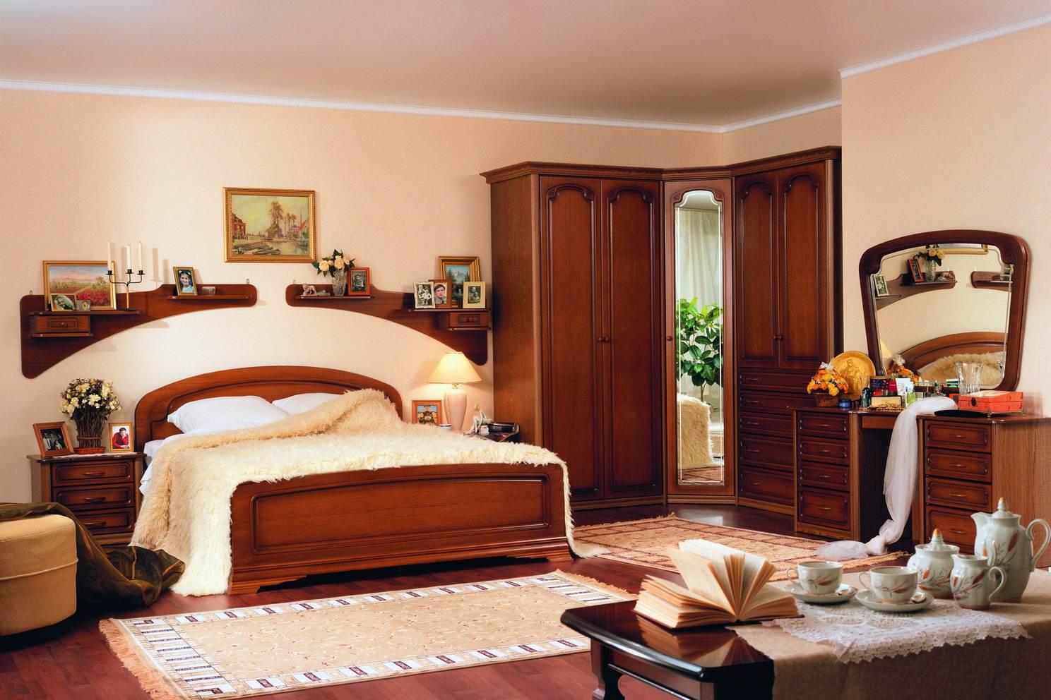 подбираем мебель для спальной комнаты