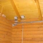 Проводим электричество в деревянном доме