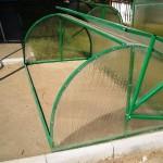 Изготовление парников из поликарбоната