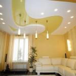 4 главных преимущества натяжных потолков