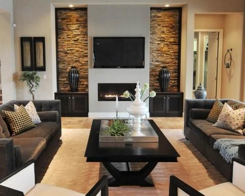 Современный интерьер гостиной фото
