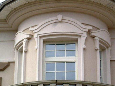 фасад из легкого бетона