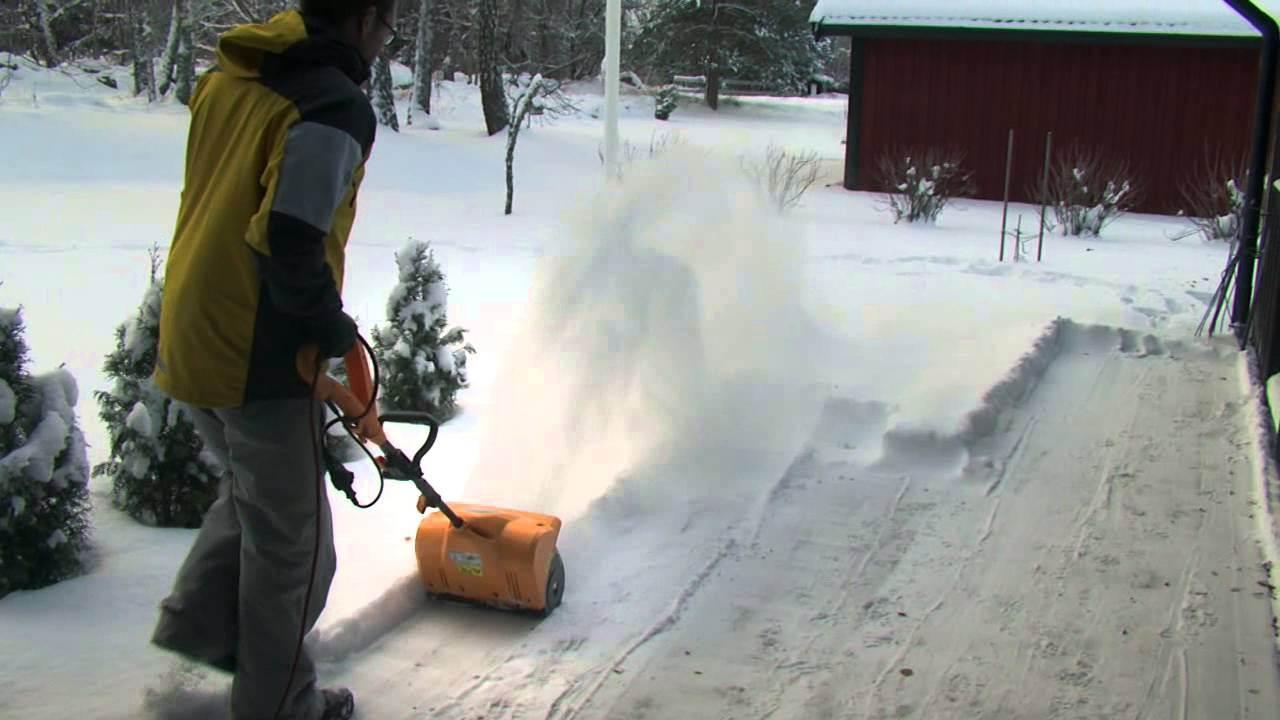 Электролопата своими руками для снега