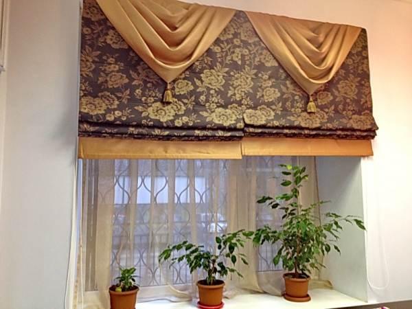 Римская штора и дизайн
