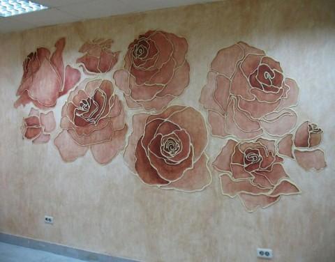 тип росписи на стене