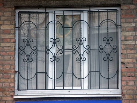 сварная решетка на окно