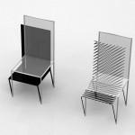 Прозрачный стул от John Leung
