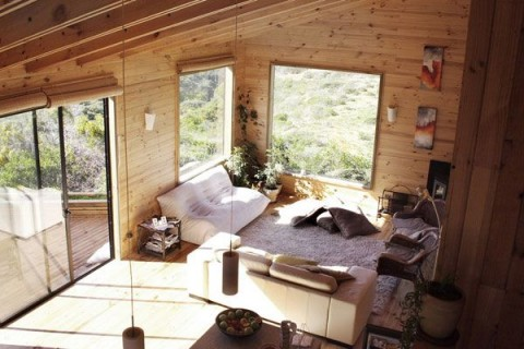 wooden-living-room