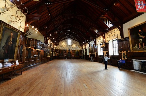 BLAIR_ATHOLL_CASTLE_The_ballroom